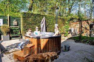 udendørs spa bad projekt i Frankrig