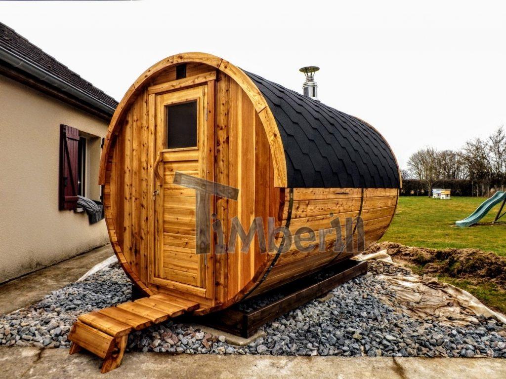 udendørs tønde sauna i danmark