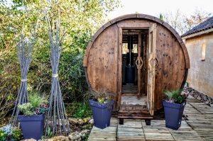 Udendørs runde sauna termo frankrig