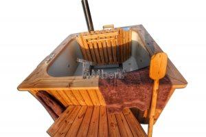 Firkantet Vildmarksbad Micro pool – Party Tub til 16 personer!
